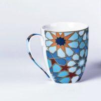 Mosaic Blue Mug