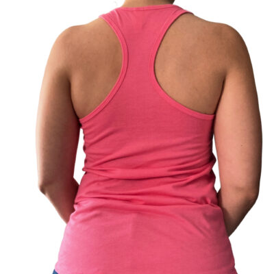 dark pink tanktop backside